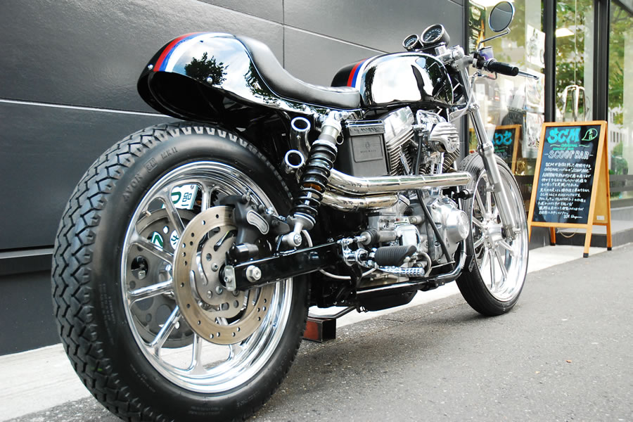 Custom Harley Cafe Racer