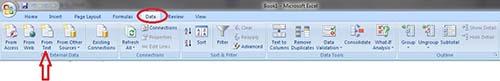 Tutorial Excel 2007 Bagian 2 : Import File Data Text ke Excel