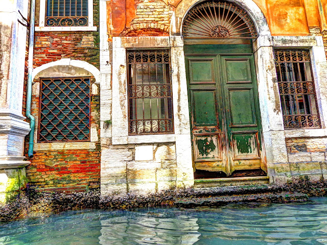 Door 2 on the canals of Venice, Italy