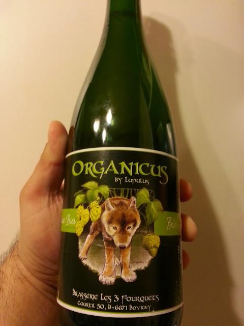 Lupulus Organicus в бутылке 0,75