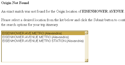can't find Eisenhower Avenue, did you mean Eisenhower Ave Metro (Alexandria) Eisenhower Avenue Metro (Alexandria) or Eisenhower Avenue Metro Station (Alexandria)