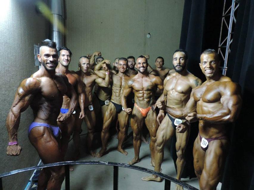 Ao todo, onze atletas disputaram na categoria. Foto: Arquivo pessoal