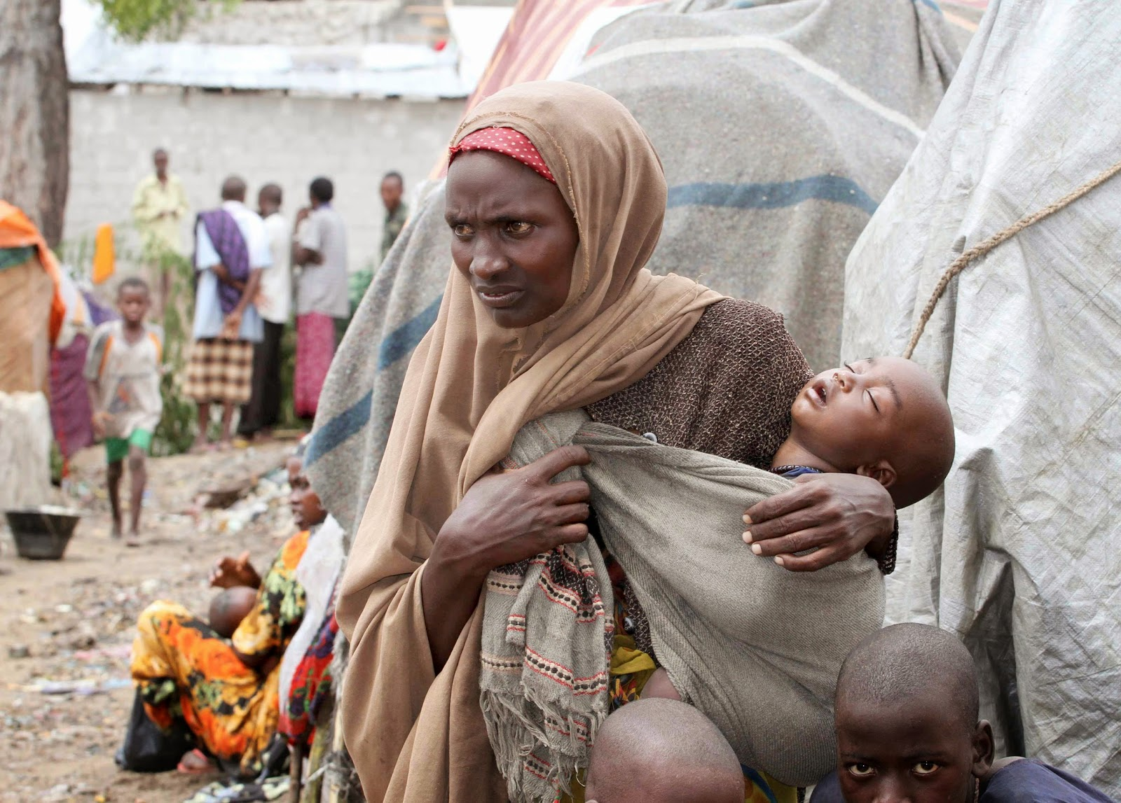 Голодающие дети Африки (21 фото) 38