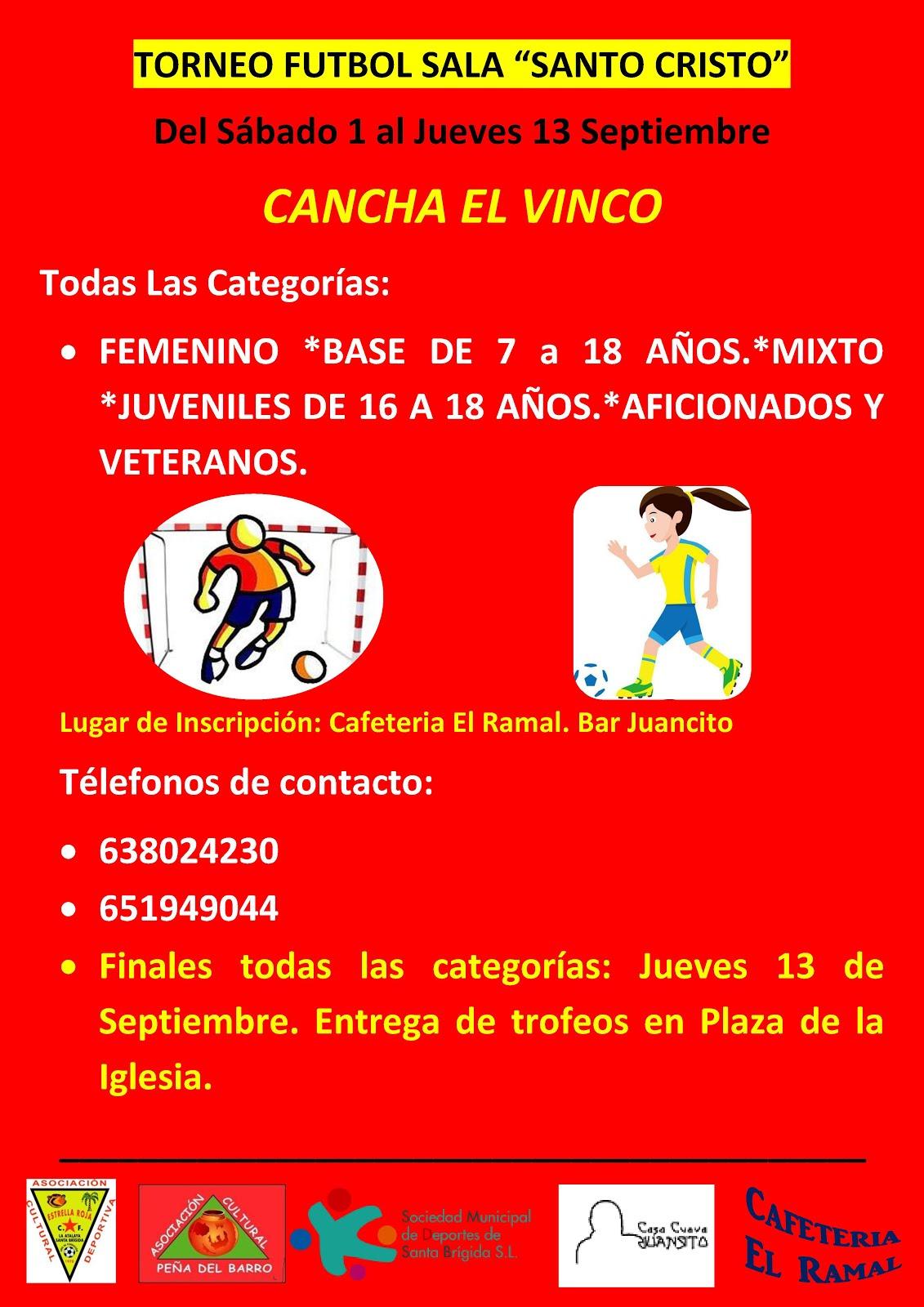Campeonato Futbol Sala en La Atalaya Santa Brígida