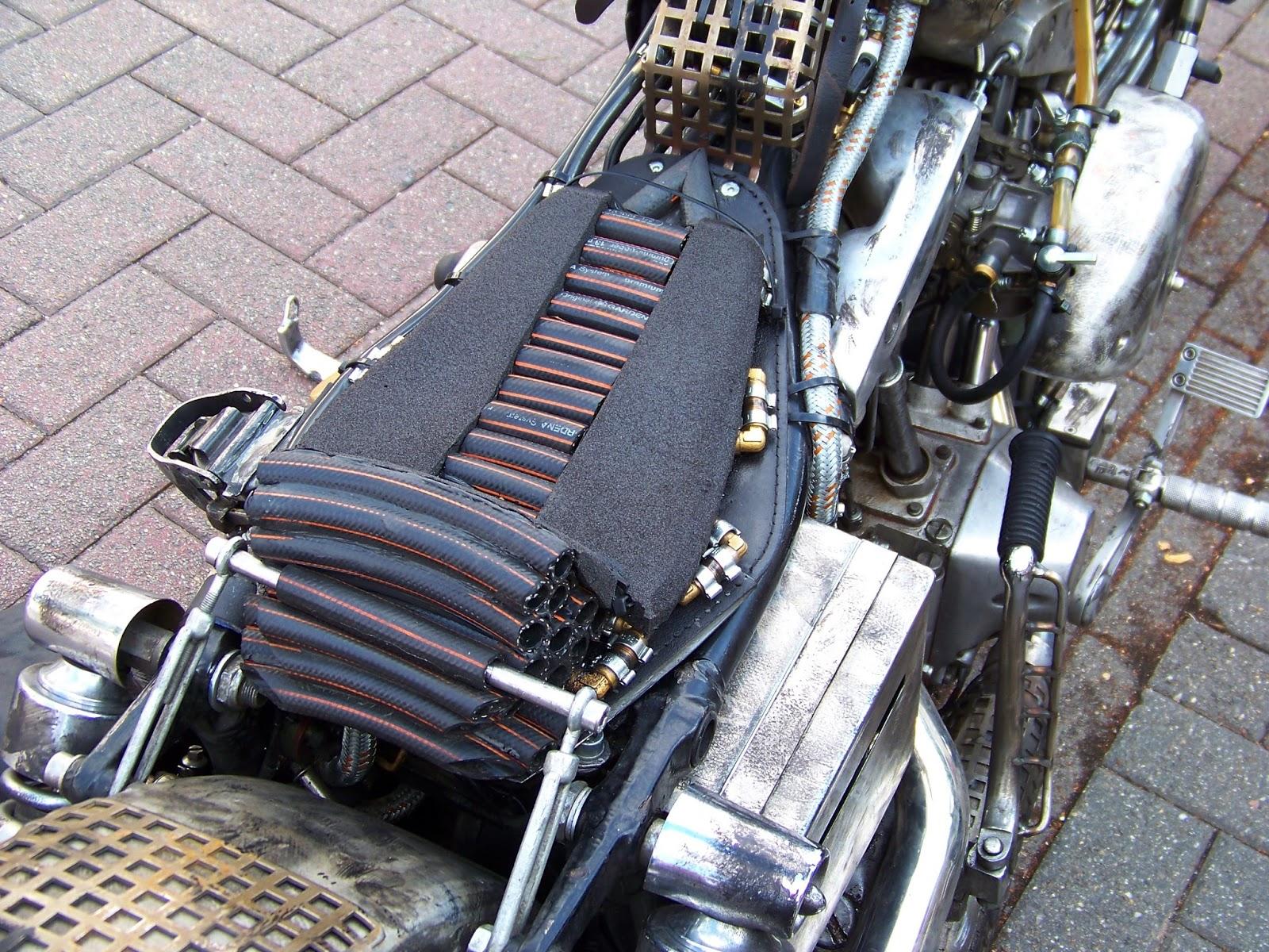 Harley Davidson steampunk ratchopper - Motorcycle Style
