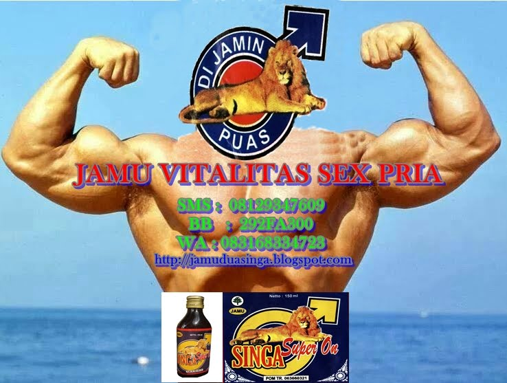 Jamu Singa Super On 08129347609