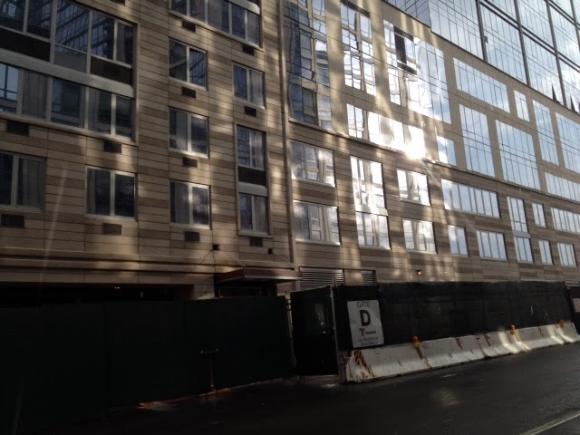 West 62nd Street Entrance To Rental Building Segment