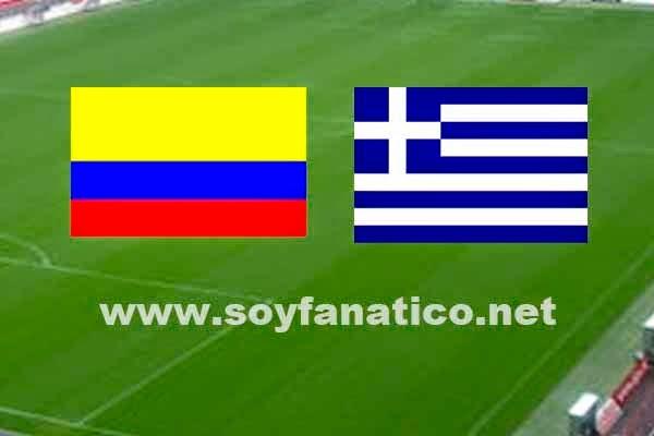 Colombia vs Grecia Grupo C Mundial 2014