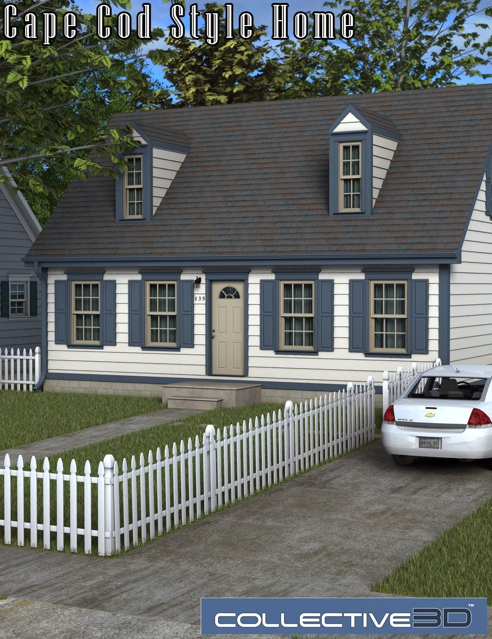 Download daz studio 3 for free daz 3d collective3d for Cape cod house characteristics