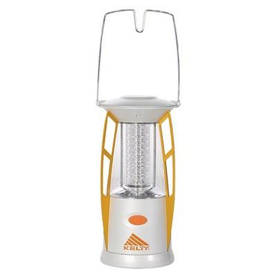 Kelty lantern that looks like a rocketship