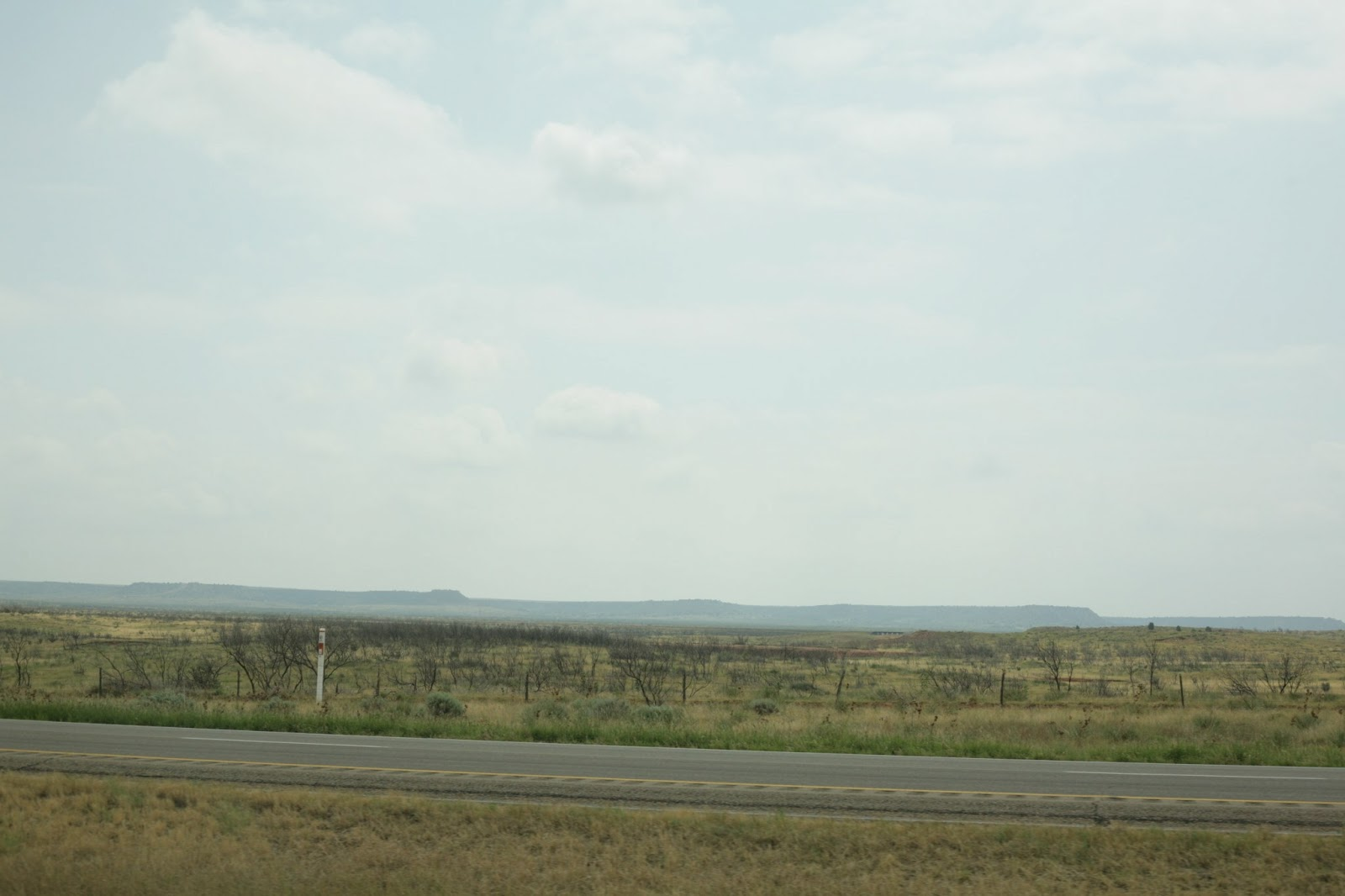 Interstate 40 in Texas panhandle