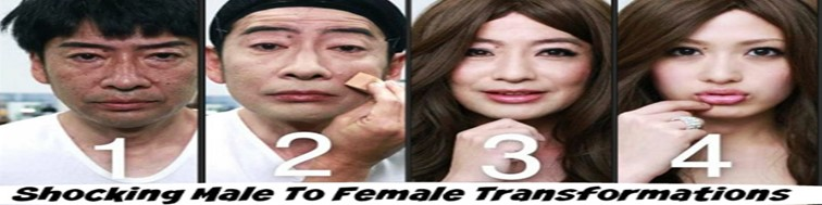 Shocking male to female transformation