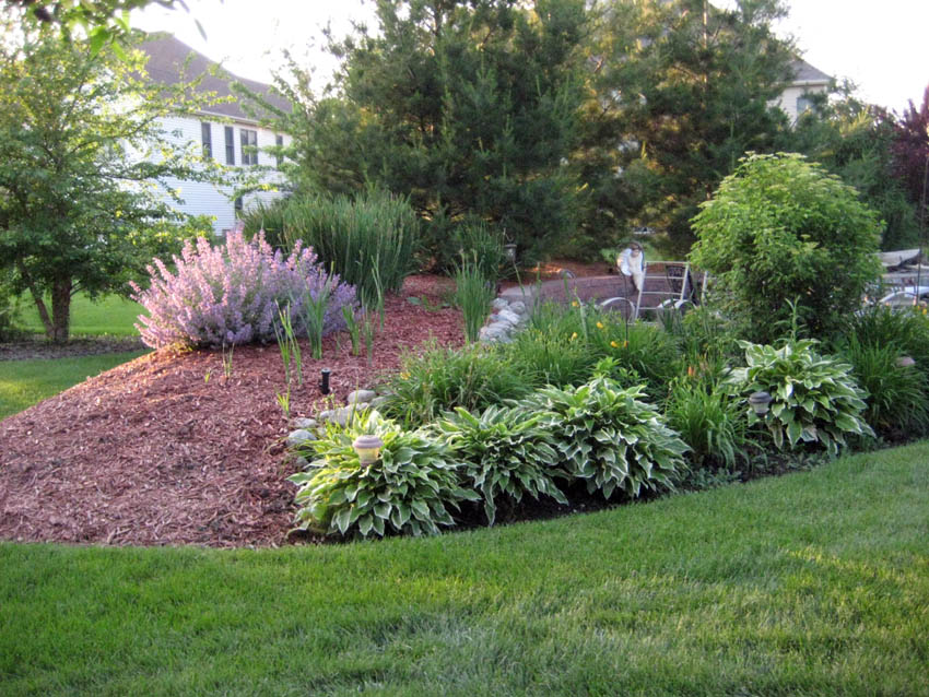 doit yourself ideas for landscaping with ornamental