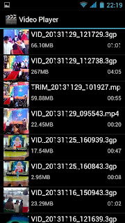 SKK Mobile Mirage S1 Video Player