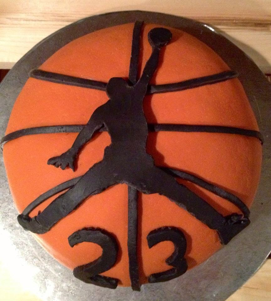 Michael Jordan 23 Basketball Birthday Cake Cakes n Goodies