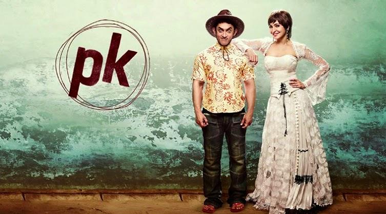 Aamir Khan PK film poster