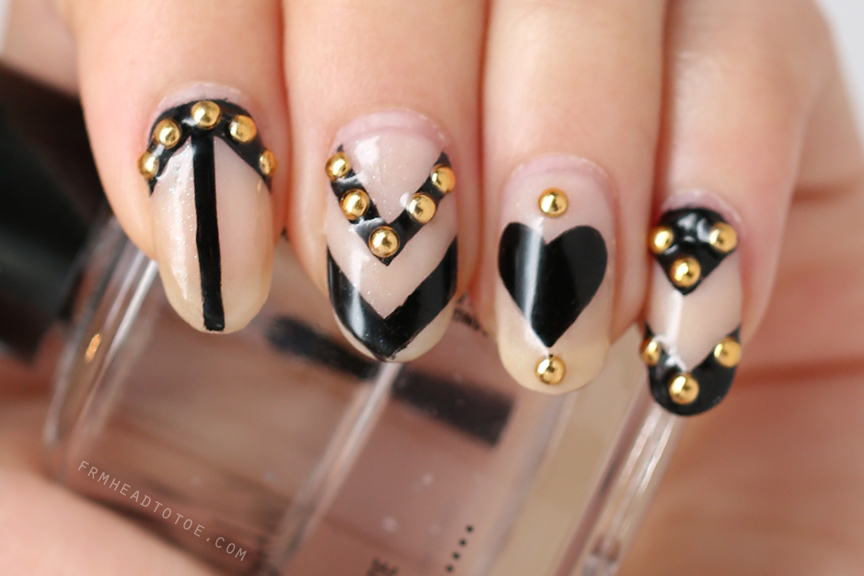 Manicure Monday: Graphic Nail Art by Jessica Tong - From Head To Toe