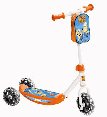 JUGUETES - PATINETES  Minions - Patinete infantil | 3 Ruedas + bolsa  Mondo Toys 28133 | Comprar en Amazon