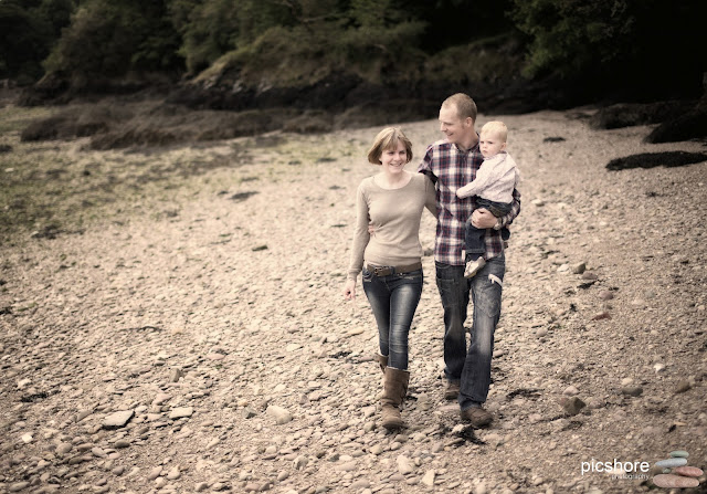 Cornwall natural family portrait Picshore Photography