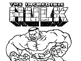 Hulk para Imprimir