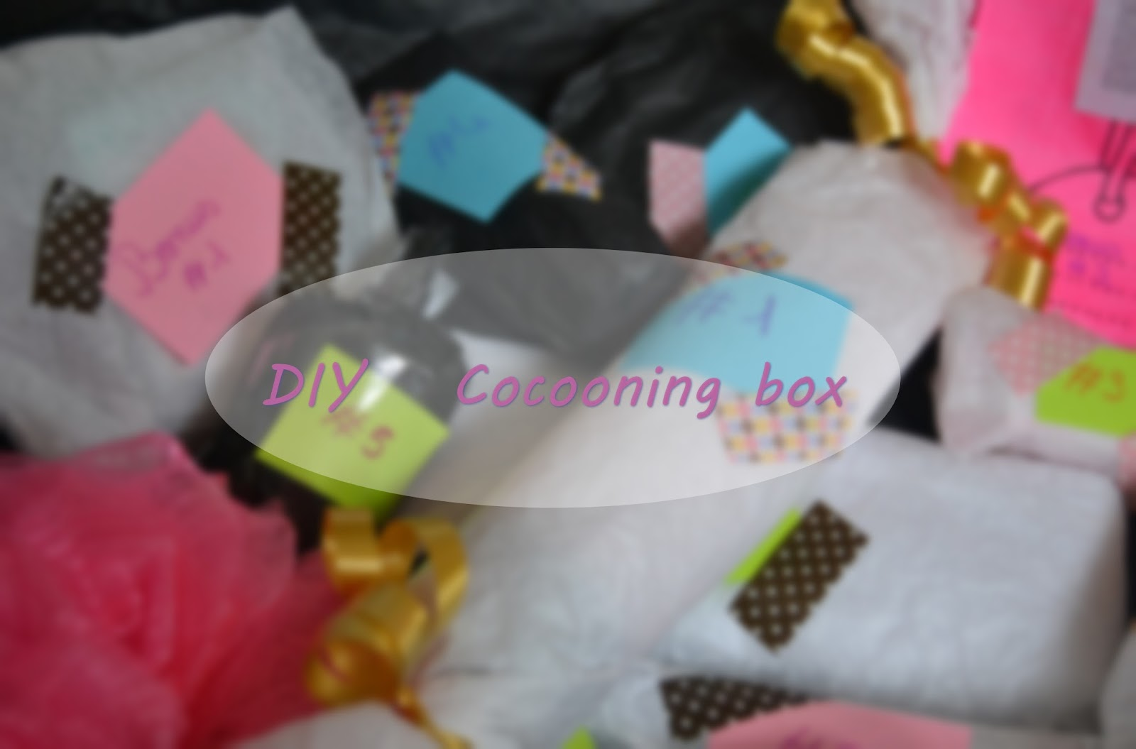 lipstick mascara and others id e cadeau de no l diy cocooning box. Black Bedroom Furniture Sets. Home Design Ideas