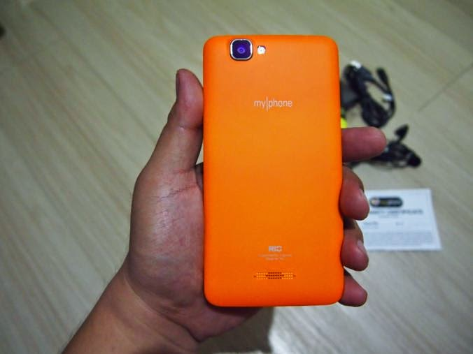MyPhone Agua Rio Unboxing, Preview And Initial Impression Back