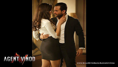 Agent Vinod: Fresh Hot HQ Wallpaper | Starring Saif Ali Khan and Malika Haydon