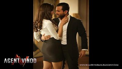 Agent Vinod: Fresh Hot HQ Wallpaper | Starring Saif Ali Khan and Malika Haydon