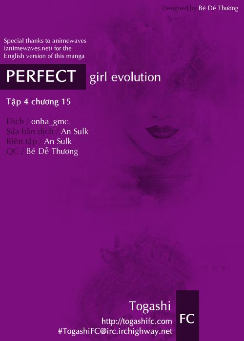 Perfect Girl Evolution chap 15 - Trang 1