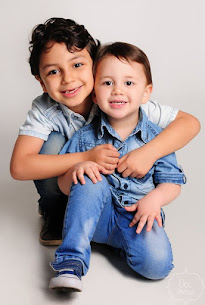 Kemuel e Samuel, bênçãos na minha vida.