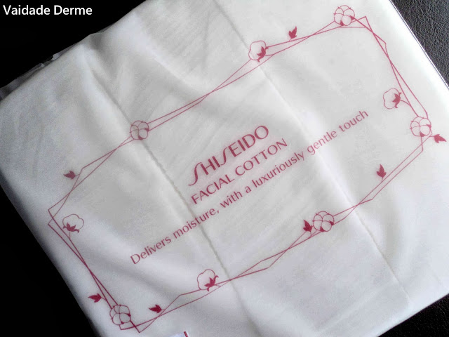 Facial Cotton da Shiseido