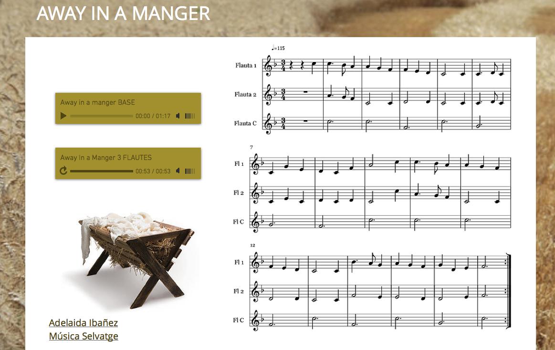 http://musicaade.wix.com/awayinamanger3veus