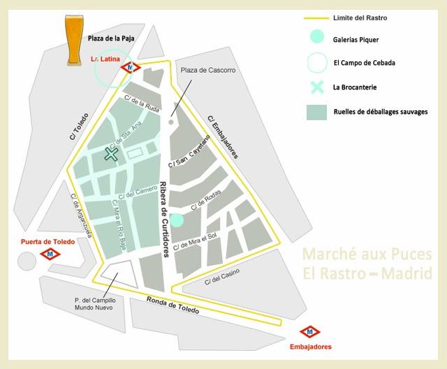 Plan Marché aux Puces- Madrid
