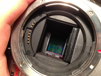 how to clean sensor on canon rebel t5
