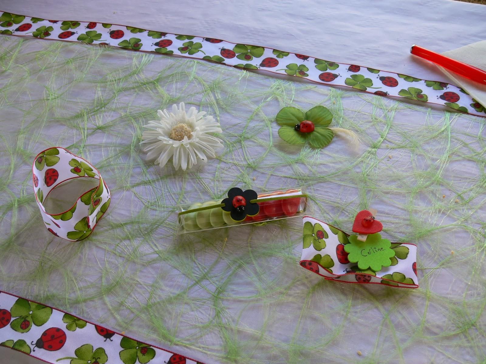 D coration de table mariage ou anniversaire - Decoration de la table ...