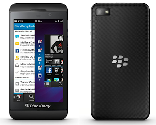 BlackBerry Z10 $965 million loss