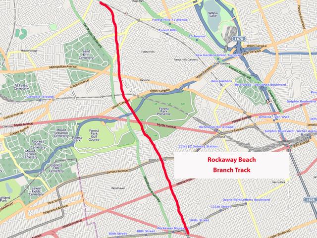 Electeds want rail line restored