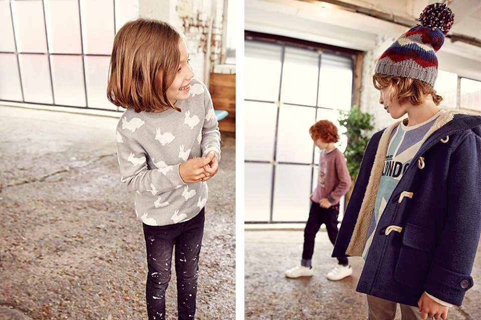 Zara Kids 'Back To School' Lookbook 2014