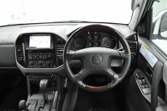 Japanese vehicles to the world 2002 Mitsubishi Pajero Long Exceed 4WD