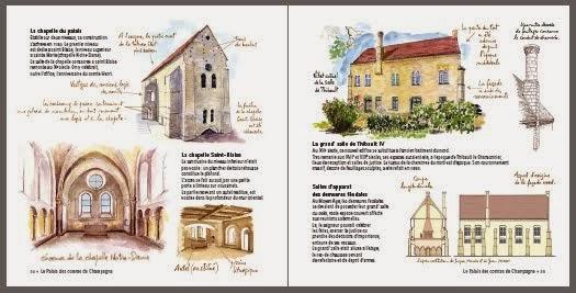 La chapelle du palais et la salle de Thibault IV