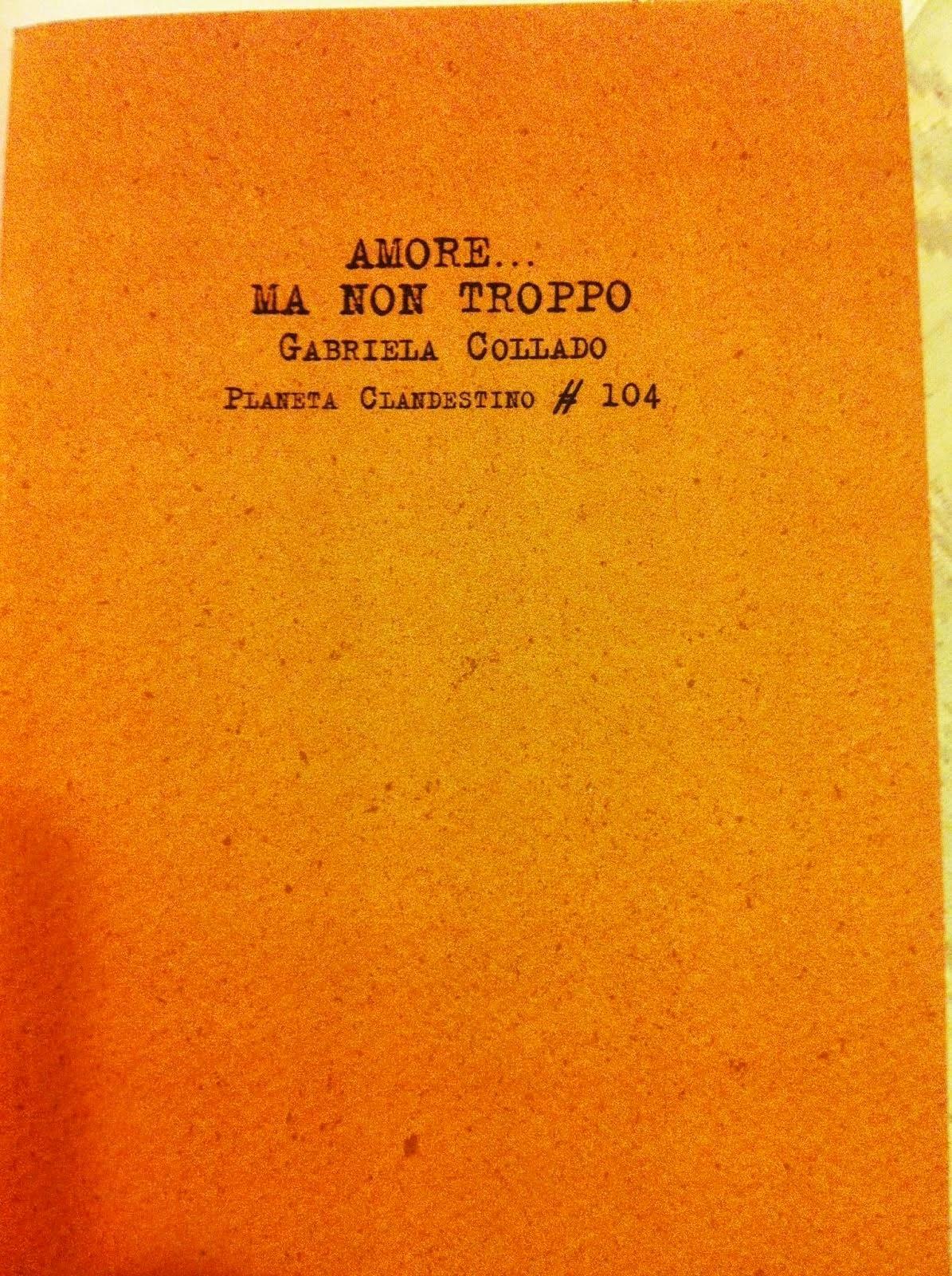 Amore... Ma non troppo (Agosto 2012) Ediciones del 4 de agosto