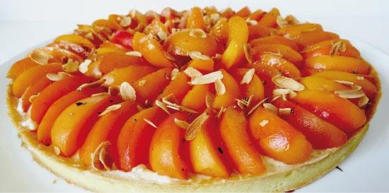 tarte abricot romarin