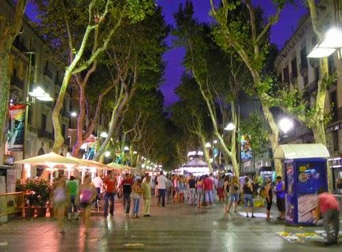 Las Ramblas Camp Nou Tickets Barcelona Barca