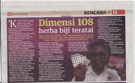 KELUARAN MINGGUAN MALAYSIA 10hb.NOV.2013