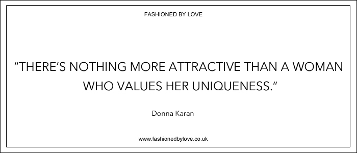via fashioned by love | best fashion & style quotes | Donna Karan