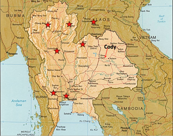 as you can see ive been lucky enough to see a lot of thailand and even a little sneak peek of our neighbor to the north laos and though travel in se