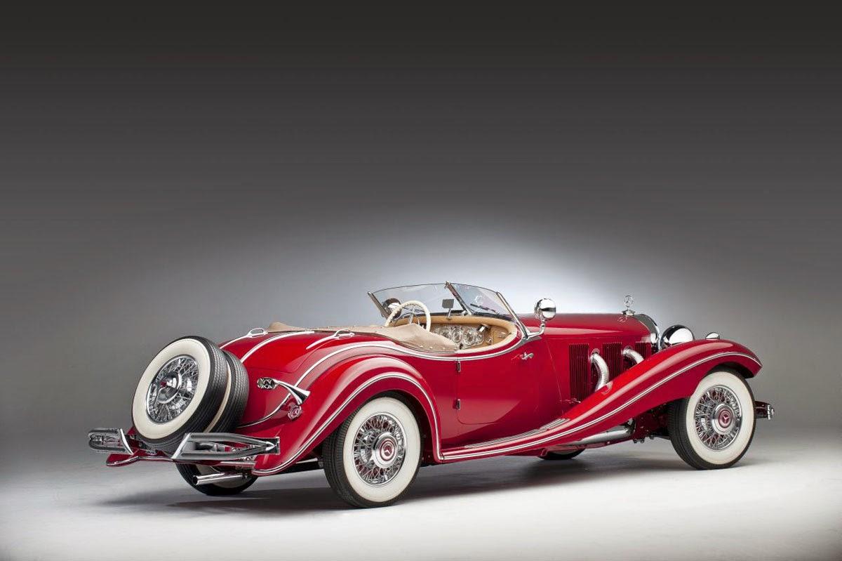 Sin duda uno de los coches con mayor glamour en la europa de los a os 30 fue el precioso mercedes benz roadster 500k con una carrocer a descapotada el