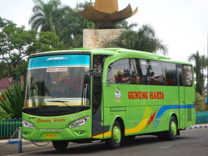Bus Executive Gunung Harta 32 seat Toilet