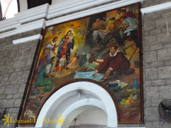 Painting in Santa Ana Church, Manila