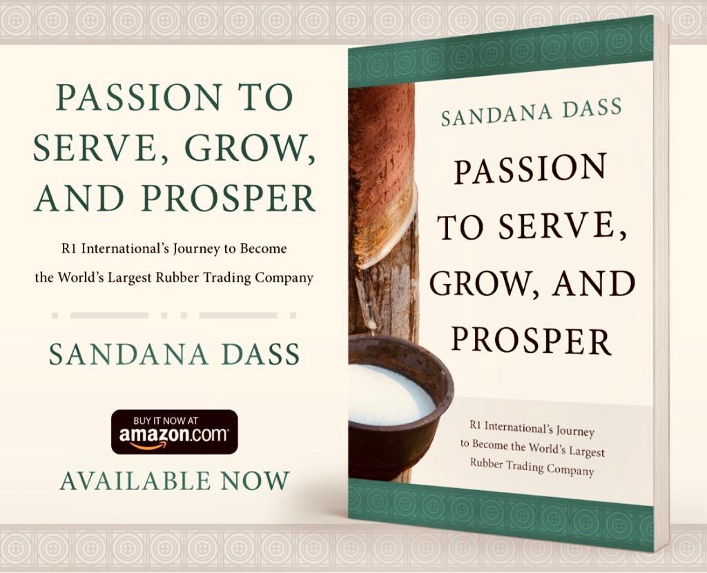 Passion to serve and grow by Sandana Dass